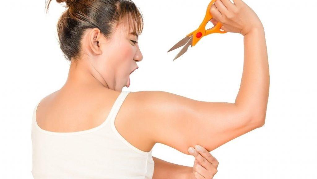 שאיבת שומן, גם בזרועות